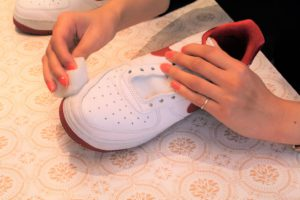 革靴のお手入れ手順8