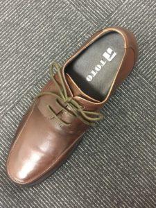 上から見た靴