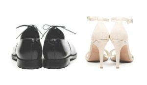 靴とヒール